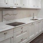 Quartz Worktops Two Delicate Vein Marbles