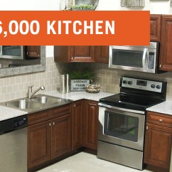 Affordable Kitchens Kitchen Subway Tile Backsplash And Baths The 6000