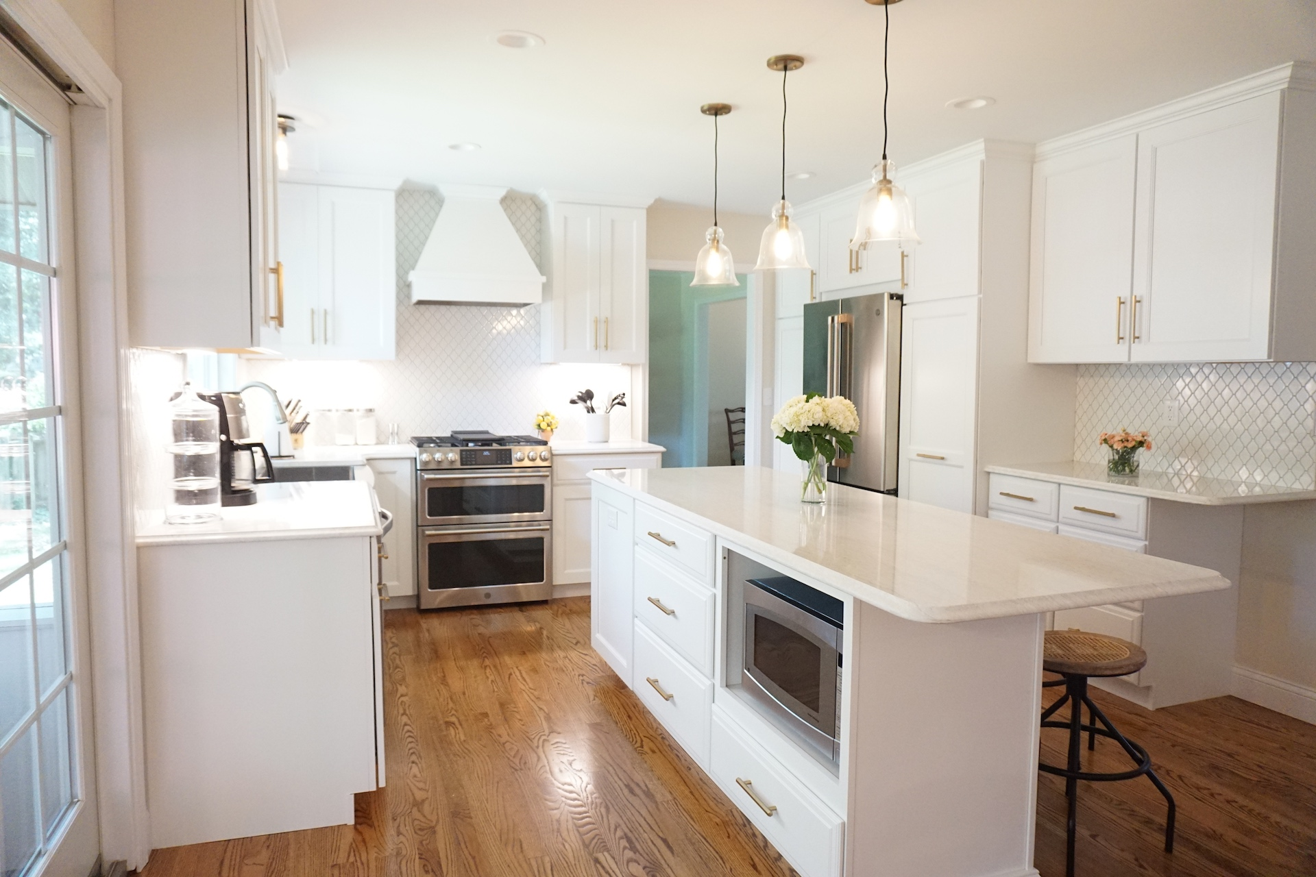 affordable kitchens and baths simple kitchen island bright white transformation