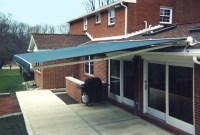 Roof Mounted Retractable Awning | Affordable Tent and ...