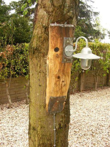 Tuin hanglamp met vogelhuis 100 cm | €280,-