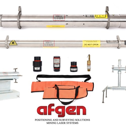 Afgen Mine and Tunnel Alignment Lasers