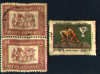 Stamps from Afghanistan