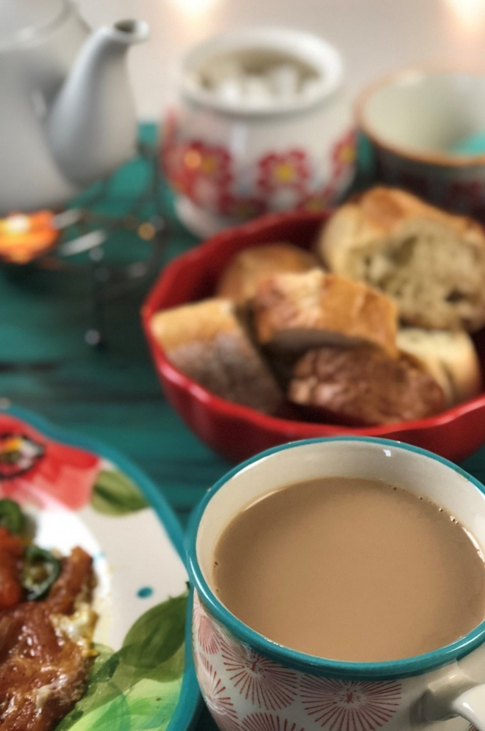 Sheer Chai Afghan (Cardamom Tea with milk)