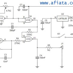 Ultrasonic Motion Detector Circuit Diagram Dodge Truck Wiring Diagrams Metal | Electronic And Layout
