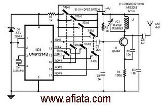 Digital Intercom Diagram Digital Transmitter Wiring