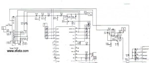 TV Tuner Reciver uhf, vhf | Electronic Circuit Diagram and