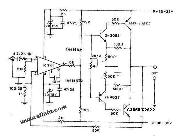 2000w power amplifier circuit diagram wiring diagrams for car stereo toyskids co amp ocl using sanken electronic datasheet