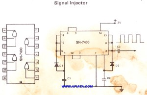 signal generator | Electronic Circuit Diagram and Layout