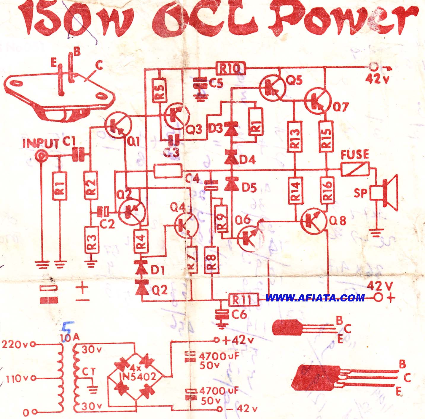 hight resolution of 2n3055 mj2955 audio amplifier circuit electronic circuits audio amplifier circuit electronic circuits schematics diagram