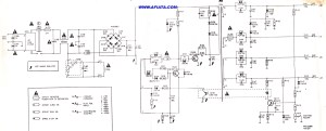 ac power supply for tv and pc   Electronic Circuit Diagram and Layout