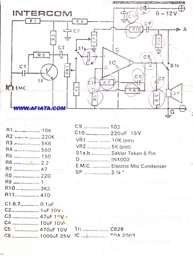 medium resolution of making circuit boards at home home intercom wiring diagram simple intercom circuit wireless intercom circuit intercom