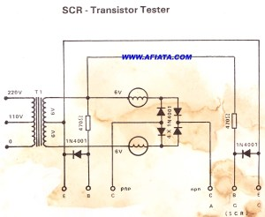 Transistor Tester for repair | Electronic Circuit Diagram and Layout