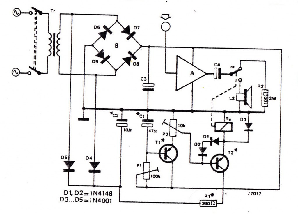 simple intercom circuit electronic circuit projects