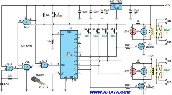 Electronic Circuits Diagrams Free Design Projects Electronic