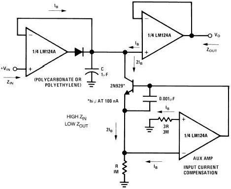 Pushing the Op Amp Circuit Collection button converts the