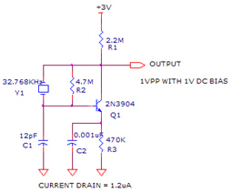 The 303MHz oscillator consists of a self oscillating circuit made | Electronic Circuit Diagram