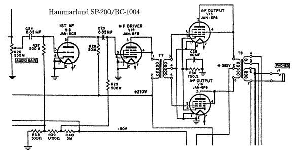 Head Phones tube circuit