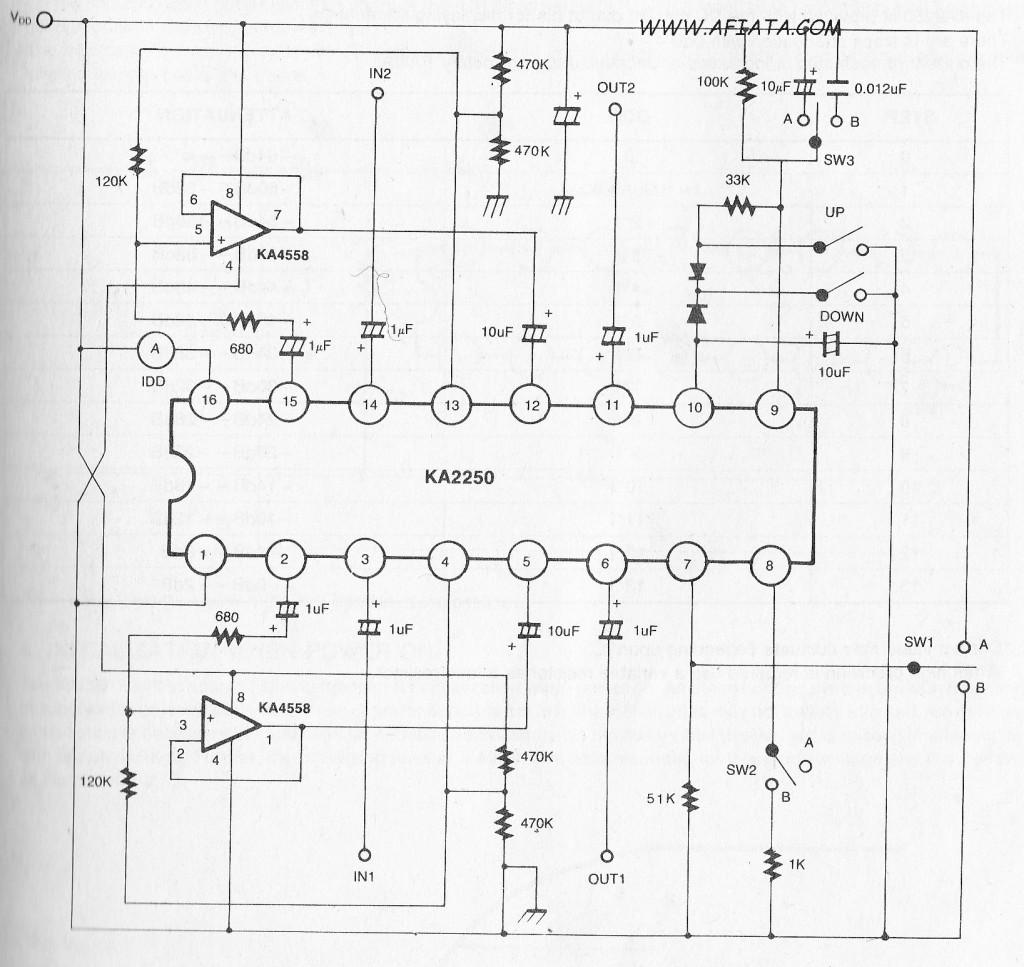 Digital Volume Control Circuit