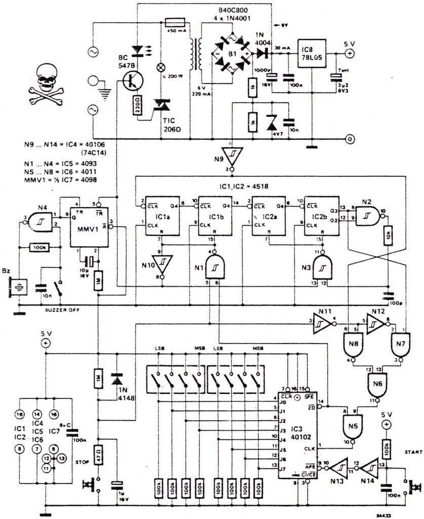 medium resolution of digital clock circuit
