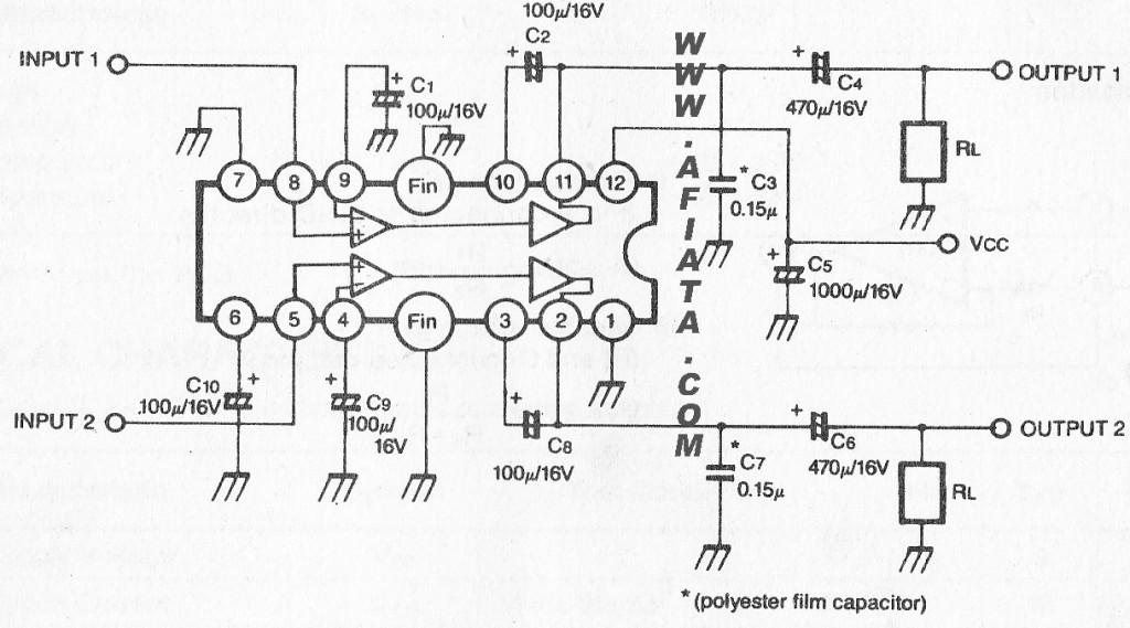 ☑ Integrated Circuit Diagram