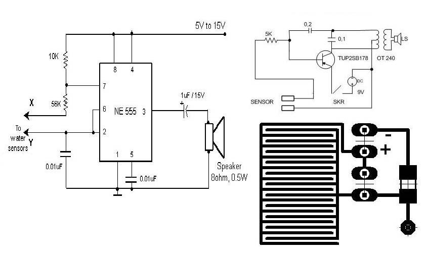 water detector circuit