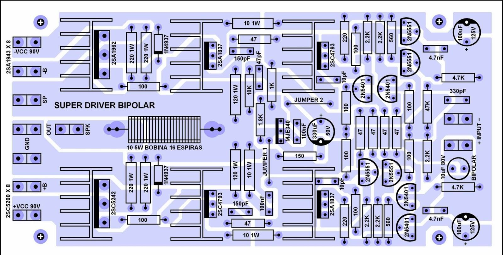 2000 watts power amplifier schematic diagram 2 gang one way switch wiring amp circuit electronic and layout
