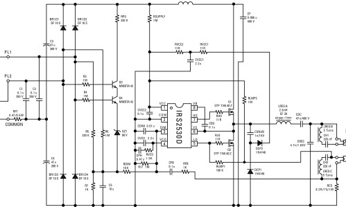 small resolution of ballast schematic wiring diagram centrefluorescent ballast schematic irs2530d circuit schematic blogelectronic x ballast circuit diagram electronic