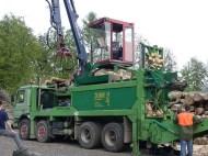 1998 - fendeuse Aficor automatique sur camion 60M
