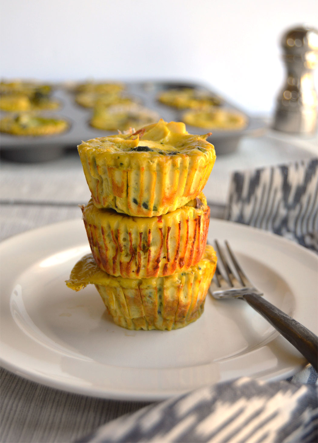 Veggie Stuffed Egg Muffins
