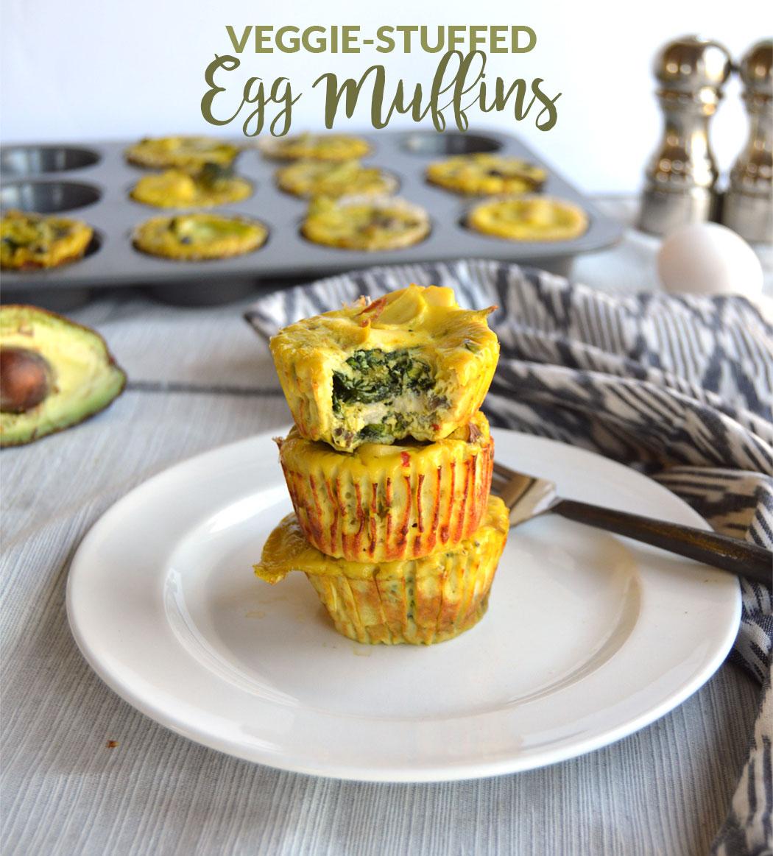 Veggie-Stuffed Egg Muffins
