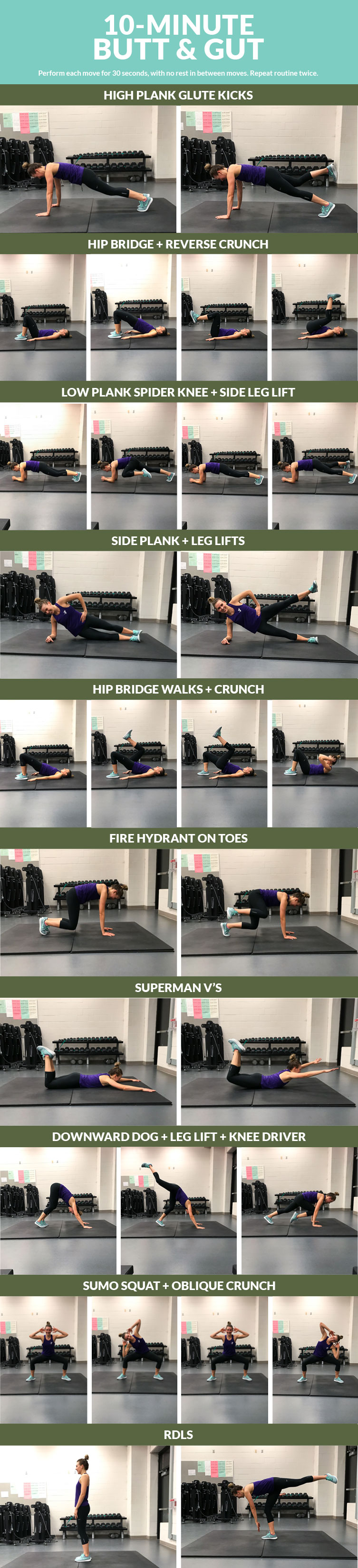 10-Minute Butt-and-Gut Workout