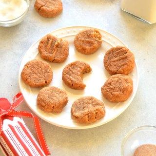 Skinny Snickerdoodle Cookies