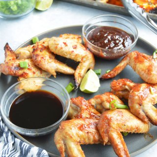 Sweet and Savory Chicken Wings