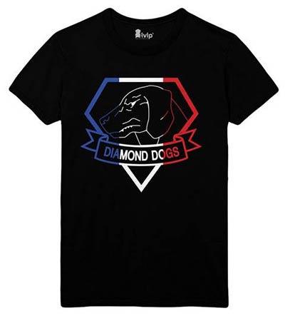 Visuel du T-shirt exclusif au Metal Gear Store
