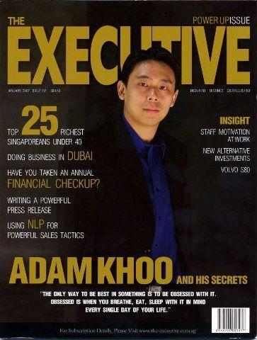 """نصائح """"آدم خو"""" أصغر مليونير في سنغافورة"""