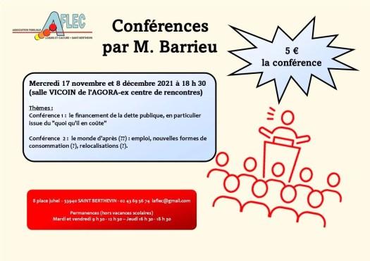 Conférences 2021 Mr Barrieu