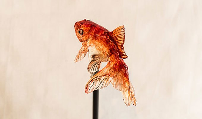 Animal lollipops that are pieces of art