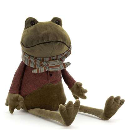 Jellycat Riverside Ramblers Frog 33cm | All Ages Sepcial Gift Plush