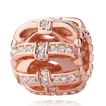 Pandora Rose Sparkling Love Charm | Material 925 Sterling Silver