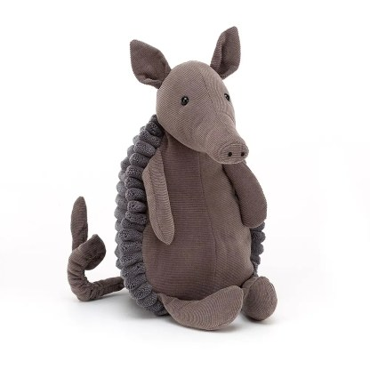Jellycat Jackadee Armadillo Stuffed Toy