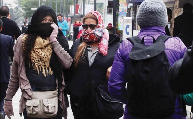 frente frio - Siguen bajas temperaturas en el norte del país, calor para el Pacífico Centro