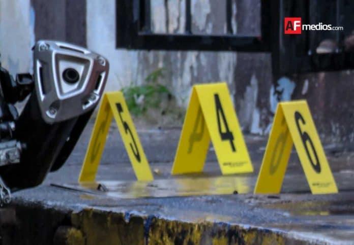 casquillo baleado ejecutado balacera 3 696x483 - 1 de diciembre fue el día más violento del año con 127 asesinatos