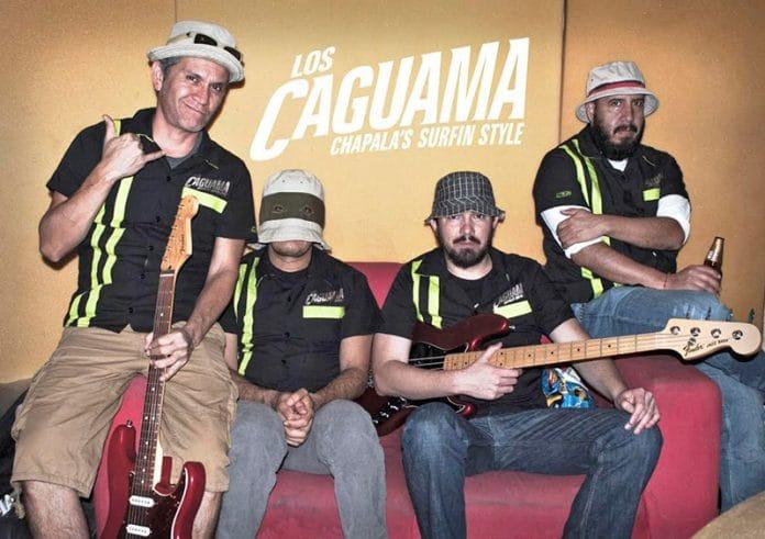"""loscaguama 696x491 - Los Caguama """"Chapalas Surfin Style"""" tocarán en Colima"""
