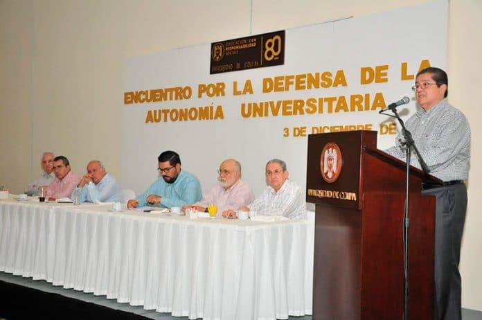 rector autonomia 696x462 - Suman fuerzas líderes y ex líderes de la FEC en defensa de la autonomía de la UdeC