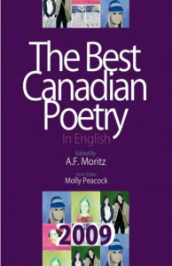 Best Canadian Poetry, 2009, 400X618