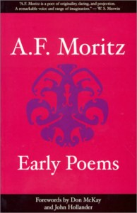 Early Poems by A F Moritz 400 x 618