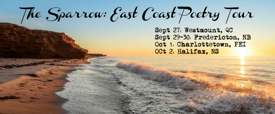 East Coast Poetry Tour