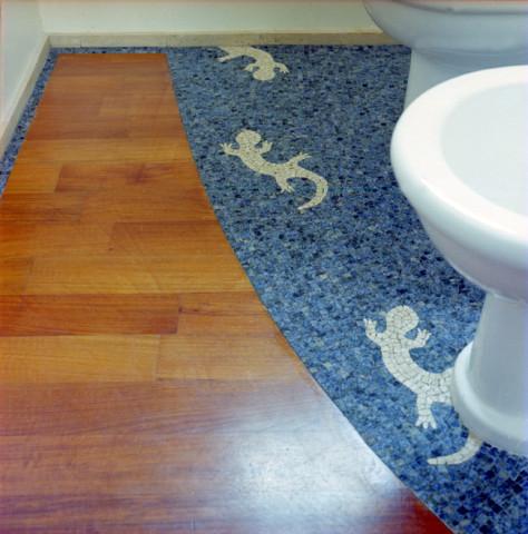 rivestimenti e pavimenti in mosaico per bagni realizzati a
