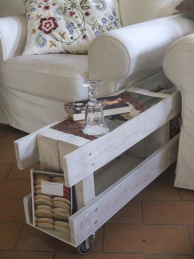 Riciclare un bancale per fare un tavolo su misura